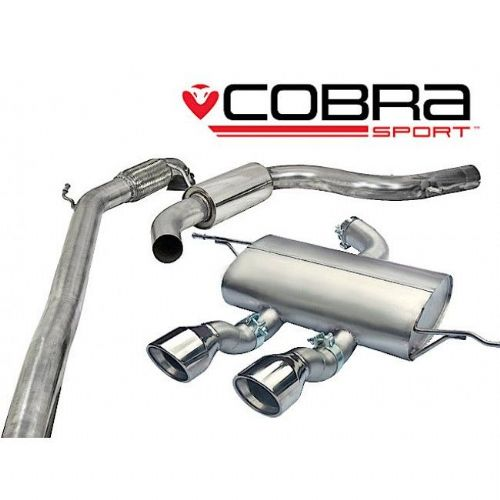 Seat Leon Cupra R Turbo Back Exhaust (De-Cat / Resonated) SE29c